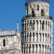 Pisa-tower-public square of the miracles — Foto Stock