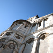 Pisa-tower-public square of the miracles - Stock Photo