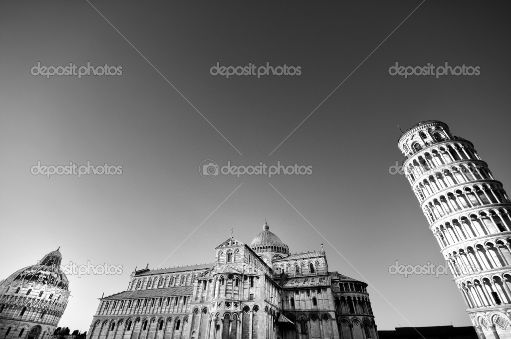 Pisa tower   Stock Photo #9524535