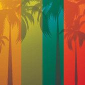 Tropikal arka plan — Stok Vektör