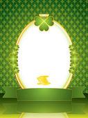 St. Patrick Frame — Stock Vector
