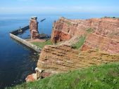 Island of Helgoland — 图库照片