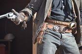 Vahşi batı kovboy — Stok fotoğraf