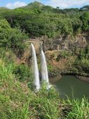Wailua Falls, Kauai, HI. — Stock Photo