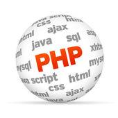 Hypertext Preprocessor — Stock Photo