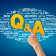 Questions and Answers — Stock Photo #10391724