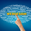 Stock Photo: Webdesign