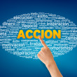 Accion — Stock Photo