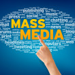 Mass Media — Stock Photo
