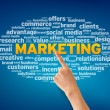 Marketing — Stockfoto