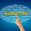 di marketing — Foto Stock