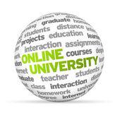 Online University — Stock Photo