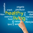 Stock Photo: Healthy Living