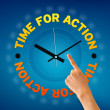 Time For Action — Foto Stock