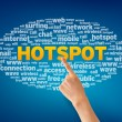 Royalty-Free Stock Photo: Hotspot