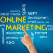 Online Marketing - Zdjęcie stockowe
