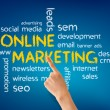 Online Marketing - Foto de Stock