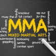 Mixed Martial Arts - Stok fotoraf