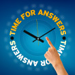 Stock Photo: Time for Answers
