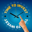Time to Invest — Foto de Stock