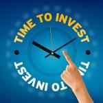 czas do inwestowania — Zdjęcie stockowe