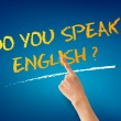 Do you speak English - Stock Photo