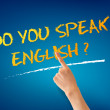 Do you speak English — Stock Photo #10557129