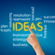 Ideas Word Illustration — Stock Photo #10557147