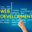 Web Development — Stock Photo #10557159