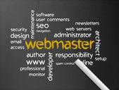 Webmaster — Foto de Stock