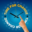 Foto Stock: Time for Change