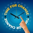 Time for Change — Stockfoto