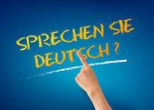 Sprechen Sie Deutsch — Stock Photo
