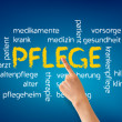 Pflege - Stock Photo