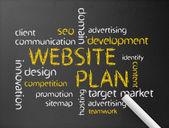 Website Plan — Stock Photo