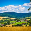 Countryside village — Stock Photo