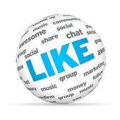 Social Sphere — Stock Photo