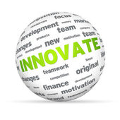 Innovate Sphere — Stock Photo