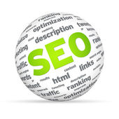 SEO Sphere — Stock Photo