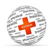 Healthcare Sphere — Stock Photo