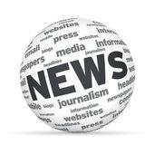 News Sphere — Stock Photo