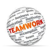 Teamwork Sphere — Stock Photo