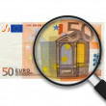 50 Euro Bill — Stock Photo