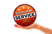 Excellent Service — Stock Photo