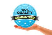 Quality Guaranteed — Stock Photo