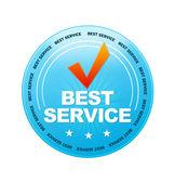 Beste service — Stockfoto