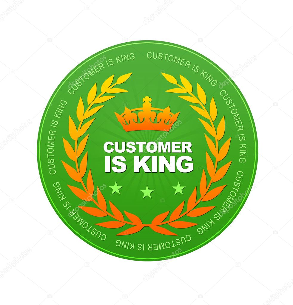 customer is king In a world where, increasingly, profit is king, customer is king is about putting the  emphasis back on the customer - how to look at your business through your.