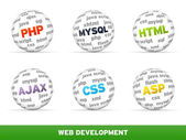 Web Development — Stock Photo