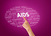 Aids Illustration — Stock Photo