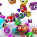 A set of colouored bingo balls — Stock Photo #9273772